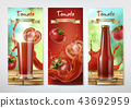 Tomato juice and ketchup ad,  43692959