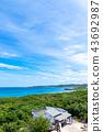 tsunoshima island, blue water, marine 43692987