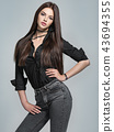 woman, hair, beautiful 43694355