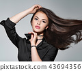 woman, hair, beautiful 43694356