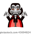 dracula, cartoon, character 43694824