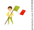 italy, flag, people 43695888