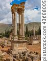 Ruins of the Umayyad Aanjar Anjar Beeka Lebanon 43698005