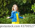 rain kids child 43700527
