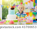 birthday, kids, cake 43700653