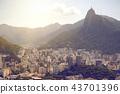 Rio aerial view 43701396