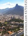 Rio de Janeiro aerial view 43701415