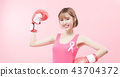 woman with prevention breast cancer 43704372