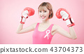 woman with prevention breast cancer 43704373