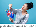 Flags of English speaking countries 43707823