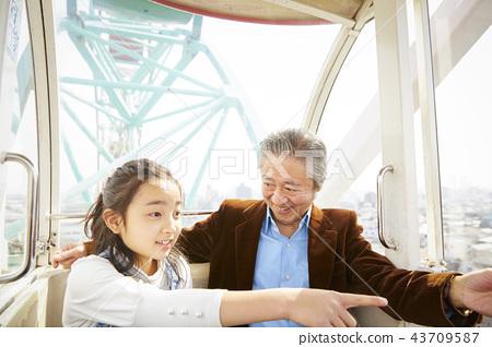 祖父 孙子 孙女 43709587