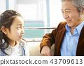 祖父 孙子 孙女 43709613
