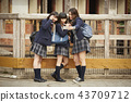 高中女生 朋友 夥伴 43709712