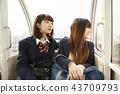 朋友 伙伴 高中女生 43709793