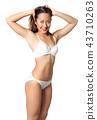 woman white bikini 43710263