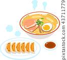 拉麵和餃子 43711779