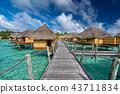 polynesia paradise resort overwater bungalow 43711834