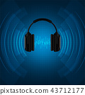 Headphones are used for hearing sounds. 43712177