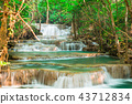Landscape waterfall in the jungle Thailand 43712834
