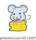 深灰色 老鼠 鼠標 43712987