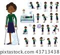 flat type business black women_sickness 43713438