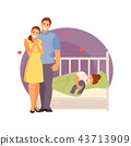 parents, illustration, kid 43713909