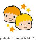星座 雙子 雙胞胎 43714173