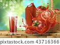 Tomato juice ad,  43716366