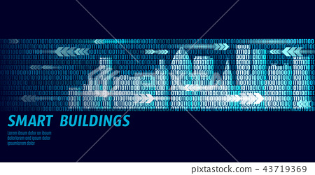 Smart City Intelligent Building Automation System Business Concept