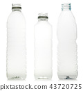 Plastic water bottles 43720725