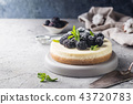 New York cheesecake 43720783