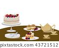 蛋糕 糖果 甜食 43721512