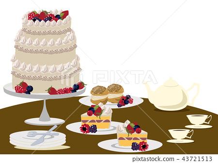 蛋糕 甜點 甜品 43721513