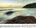 sunset, ocean, sea 43722274