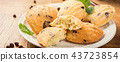 Homemade cookies Madeleine 43723854