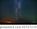 Night sky and milky way 43727210
