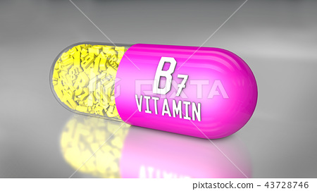 vitamin capsule or dietary supplements 43728746