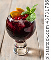 red wine sangria 43731786