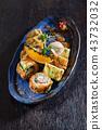 sushi in the asian restaurant 43732032