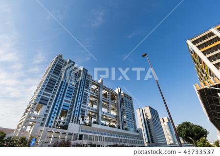 Odaiba Fuji TV Building - Stock Photo [43733537] - PIXTA