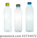 Plastic bottles 43734072