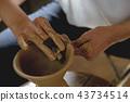 陶器 陶瓷艺术 辘轳 43734514