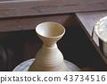 陶器 陶瓷艺术 辘轳 43734516