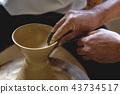 陶器 陶瓷艺术 辘轳 43734517