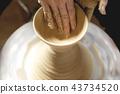 陶器 陶瓷艺术 辘轳 43734520