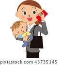 通勤 女企業家 女性白領 43735145