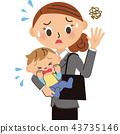 通勤 嬰兒 寶寶 43735146