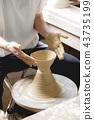 陶器 陶瓷艺术 辘轳 43735199