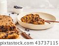 Vegan blueberry bread (cake).  43737115