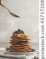 蓝莓 甜点 甜品 43737208